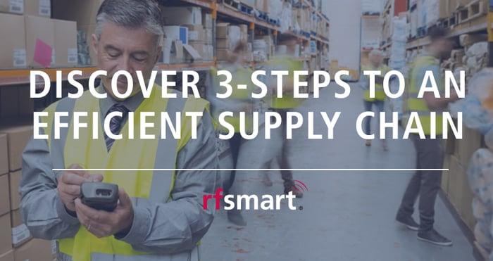 JDE 3 Steps to an efficient supply chain | RF-SMART Blog